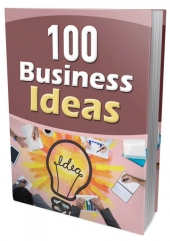 100 Business Ideas eBook with Master Resell/Giveaway Rights
