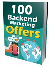 100 Backend Marketing Offers eBook with Master Resell/Giveaway Rights