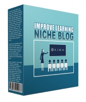 New Improve Learning Flipping Niche Blog Template with Personal Use Rights/Flipping Rights