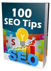 New 100 SEO Tips eBook with Master Resell/Giveaway Rights