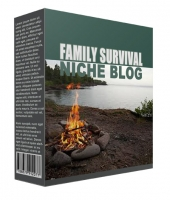 New Family Survival Flipping Niche Blog Template with private label rights