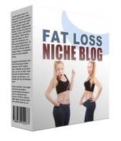New Fat Loss Flipping Niche Blog Template with Personal Use Rights/Flipping Rights