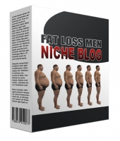 New Fat Loss for Men Flipping Niche Blog Template with Personal Use Rights/Flipping Rights