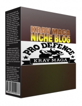 New Krav Maga Flipping Niche Blog Template with Personal Use Rights/Flipping Rights