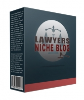 New Lawyer Niche Website Template with private label rights