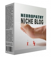 Neuropathy Flipping Niche Blog Template with Personal Use Rights/Flipping Rights