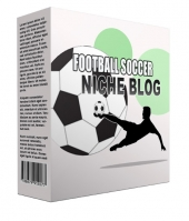 Football Soccer Flipping Niche Blog Template with private label rights