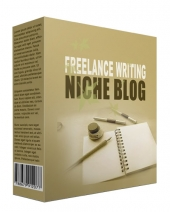 New Freelance Writing Flipping Niche Blog Template with private label rights