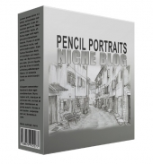 Pencil Portrait Flipping Niche Blog Template with Personal Use Rights/Flipping Rights