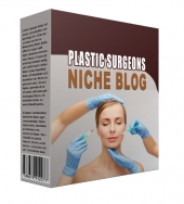 New Plastic Surgeons Flipping Niche Blog Template with Personal Use Rights/Flipping Rights