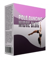 Pole Dancing Flipping Niche Blog Template with private label rights