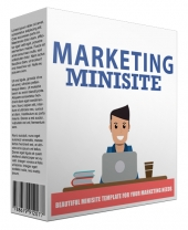 Marketing Minisite Template V42016 Template with Private Label Rights