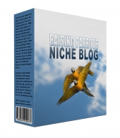 New Raising Parrots Flipping Niche Blog Template with Personal Use/Flipping Rights