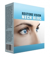 New Restore Vision Flipping Niche Blog Template with private label rights